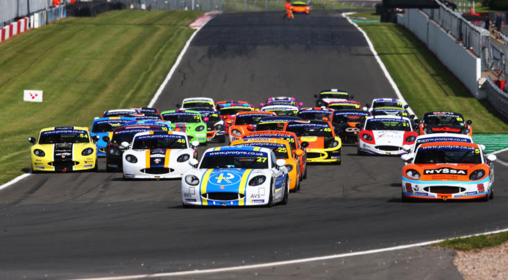 Ginetta GT5 Challenge Produces Three Different Winners At Donington Pa...