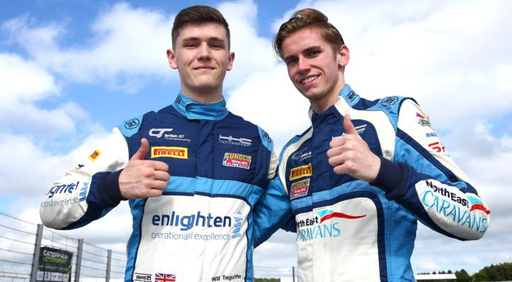 Tregurtha and Middleton Join Ginetta Young Driver Programme