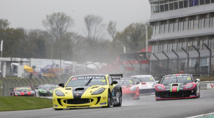 Three Races, Three Winners In Action Packed Millers Oils Ginetta GT4 S...