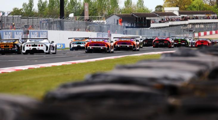 King, Burns And Hibbert Enjoy Millers Oils Ginetta GT4 SuperCup Succes...