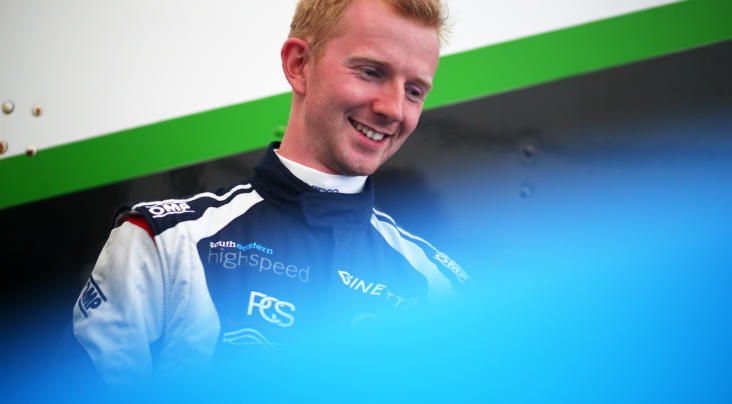 Toby Trice Gets Back On The Grid In Ginetta GT Academy