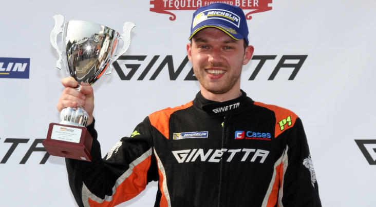 Former Title Contender Will Burns Returns To Millers Oils Ginetta GT4 ...