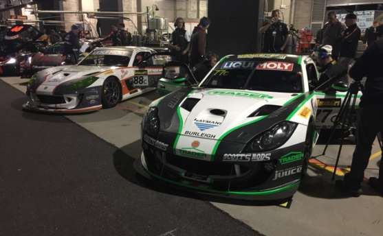 Class Podium for G55 GT4 in War of Attrition at Bathurst
