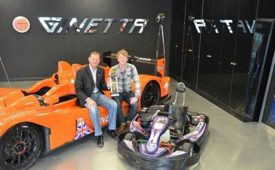 Ginetta Unites With want2race