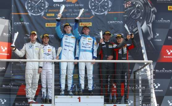 More Silverware For Middleton and Tregurtha In Euro GT4