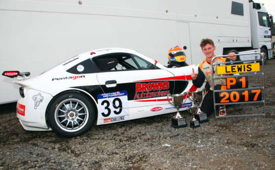 Lewis Brown Wins On Way To GT5 Challenge Title