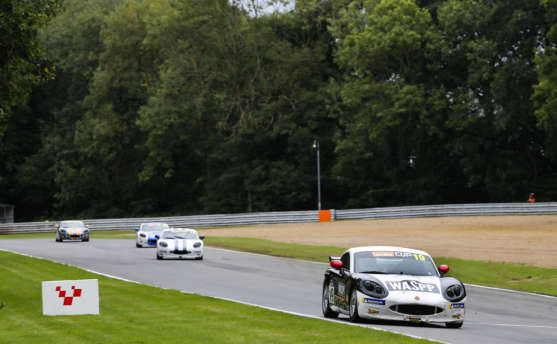 Golding Stars With Brands Hatch G40 Cup Hat-Trick