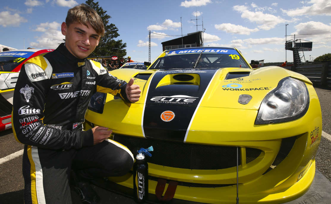 Rising Star Harry King Confirms Millers Oils Ginetta GT4 SuperCup Return