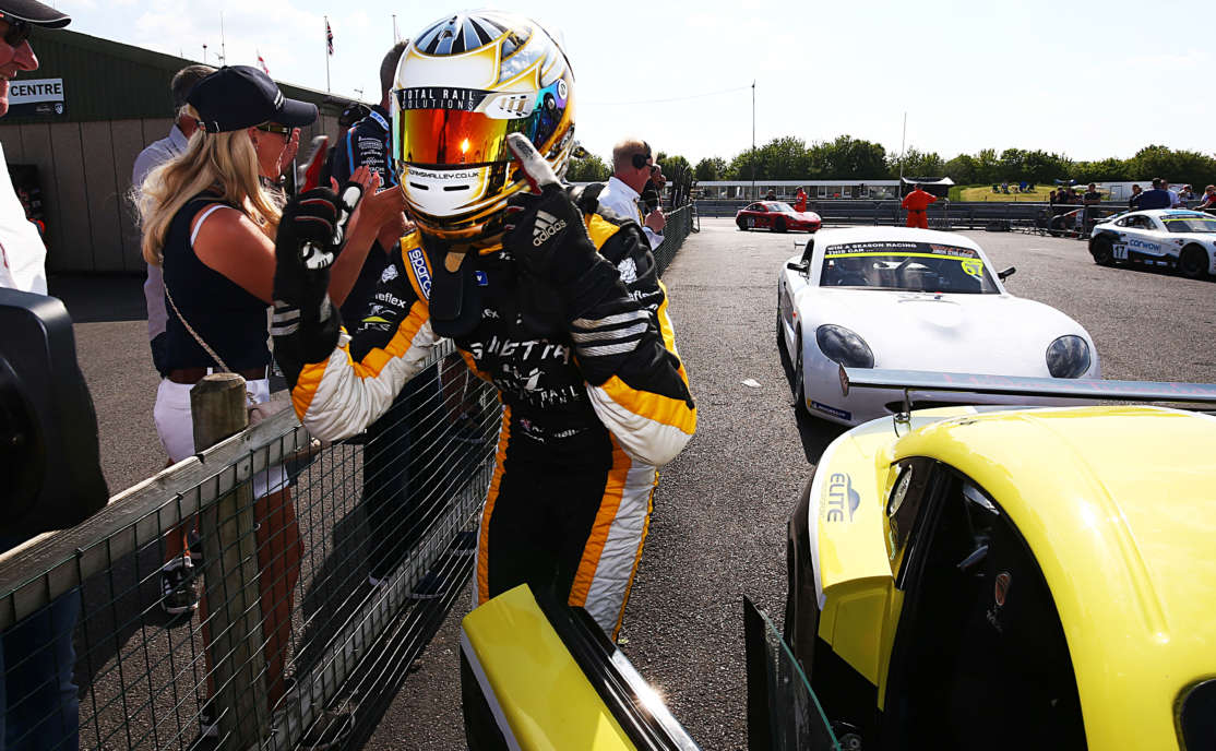 Smalley Does The Double At Thruxton
