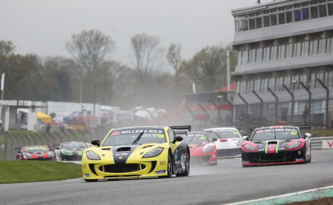 Three Races, Three Winners In Action Packed Millers Oils Ginetta GT4 SuperCup Opener